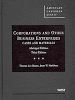 Corporations and Other Business Enterprises