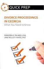 Divorce Proceedings in Georgia (Quick Prep)