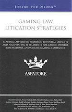 Gaming Law Litigation Strategies (Inside the Minds)