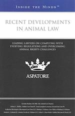 Recent Developments in Animal Law (Inside the Minds)