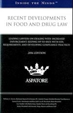 Recent Developments in Food and Drug Law (Inside the Minds)