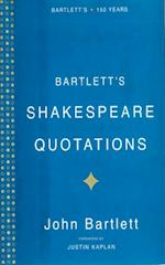Bartlett's Shakespeare Quotations af John Bartlett