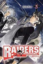 Raiders, Volume 5 af Jinjun Park