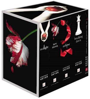 Bog, hardback The Twilight Saga Complete Collection af Stephenie Meyer