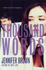 Thousand Words af Jennifer Brown