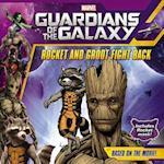Rocket and Groot Fight Back af Adam Davis