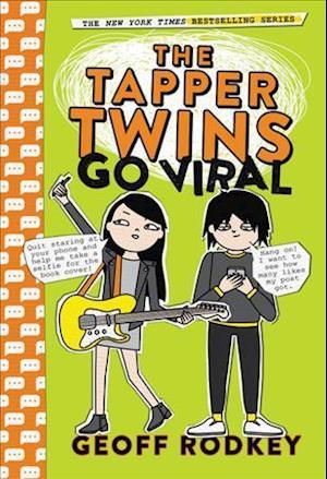 Bog, hardback The Tapper Twins Go Viral af Geoff Rodkey