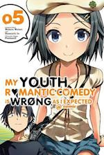 My Youth Romantic Comedy Is Wrong, As I Expected @ Comic 5 (My Youth Romantic Comedy Is Wrong As I Expected Comic, nr. 5)
