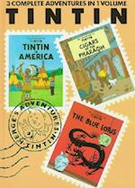 Adventures of Tintin (Adventures of Tintin/3 Complete Adventures in One Volume, nr. 1)