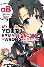 My Youth Romantic Comedy Is Wrong, as I Expected @ Comic, Vol. 8 (Manga) (My Youth Romantic Comedy Is Wrong as I Expected Comic Ma, nr. 8)