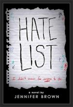 Hate List af Jennifer Brown
