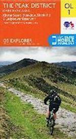 The Peak District - Dark Peak Area, Kinder Scout, Bleaklow, Black Hill & Ladybower Reservoir (OS Explorer Map, nr. 01)