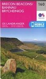 Brecon Beacons (OS Landranger Map, nr. 160)