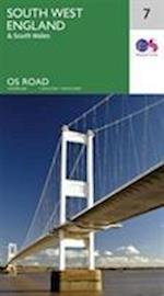 South West England (OS Road Map, nr. 7)