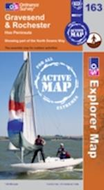 Gravesend and Rochester (OS Explorer Map Active, nr. 163)