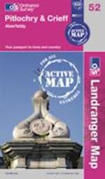 Pitlochry & Crieff (OS Landranger Active Map, nr. 52)
