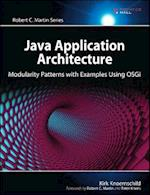 Java Application Architecture (Agile Software Development)