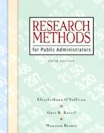 Research Methods for Public Administrators af Elizabethann O'Sullivan