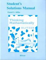 Student's Solutions Manual for Thinking Mathematically af Daniel S. Miller, Robert F. Blitzer