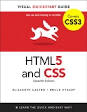 Bog, paperback HTML5 & CSS3 af Elizabeth Castro, Bruce Hyslop