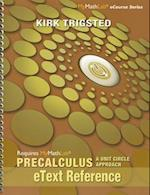 Etext Reference for Trigsted Precalculus
