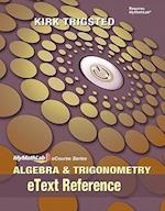 Algebra and Trigonometry, eText Reference