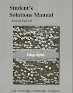 Student Solutions Manual for College Algebra af David Schneider, John Hornsby, Margaret L Lial