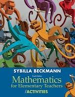 Mathematics for Elementary Teachers with Activities af Sybilla Beckmann