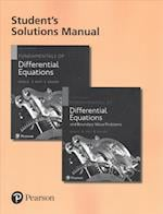 Fundamentals of Differential Equations, 9th Edition and Fundamentals of Differential Equations and Boundary Value Problems, 7th Edition