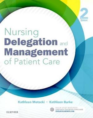 Bog, paperback Nursing Delegation and Management of Patient Care af Kathleen Motacki