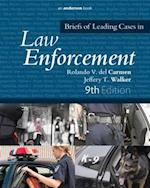 Briefs of Leading Cases in Law Enforcement af Rolando V. Del Carmen
