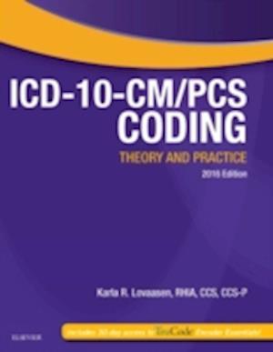 Bog, paperback ICD-10-CM/PCS Coding: Theory and Practice af Karla R. Lovaasen