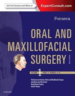 Bog, hardback Oral and Maxillofacial Surgery 3e: Volume 1 af Raymond J. Fonseca
