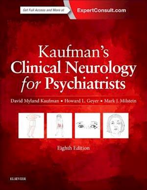 Bog, hardback Kaufman's Clinical Neurology for Psychiatrists af David Myland Kaufman