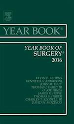 Year Book of Surgery 2016, af Kevin E. Behrns, David M. Mozingo, James R. Howe