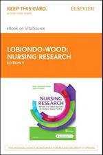 Nursing Research - Elsevier Ebook on Vitalsource Retail Access Card