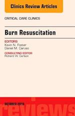 Burn Resuscitation, An Issue of Critical Care Clinics (The Clinics: Internal Medicine, nr. 32)