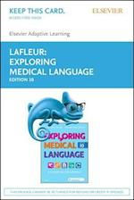 Elsevier Adaptive Learning for Exploring Medical Language Access Card