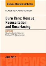 Burn Care: Rescue, Resuscitation, and Resurfacing, An Issue of Clinics in Plastic Surgery (The Clinics, Surgery, nr. 44)