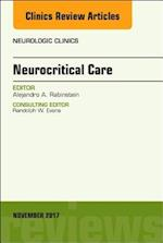 Neurocritical Care, An Issue of Neurologic Clinics (The Clinics, Radiology, nr. 35)