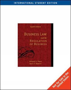 Business Law and the Regulation of Business, International Edition