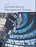 Introduction to Management Science, 3e