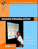 Introduction to Reasoning and Proof, Grades 3-5 [With CDROM]