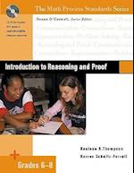 Introduction to Reasoning and Proof, Grades 6-8 (Math Process Standards)