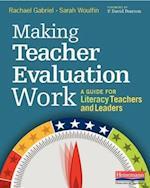 Making Teacher Evaluation Work