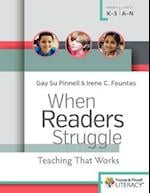 When Readers Struggle (F p Professional Books and Multimedia)