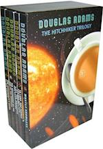 Douglas Adams Boxset (PB) - The Hitchhiker Trilogy (5 books) (Hitchhiker's Guide to the Galaxy)