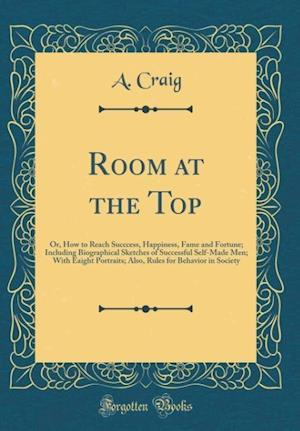 Bog, hardback Room at the Top af A. Craig