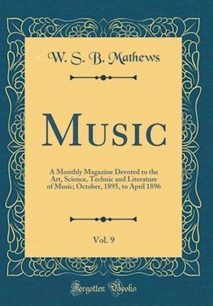 Bog, hardback Music, Vol. 9 af W. S. B. Mathews