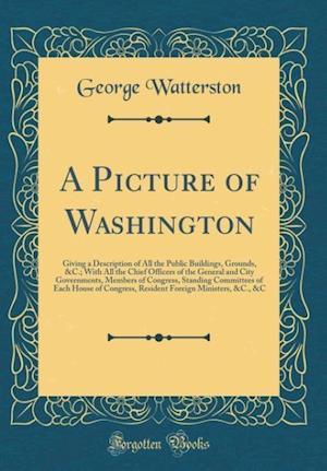 Bog, hardback A Picture of Washington af George Watterston